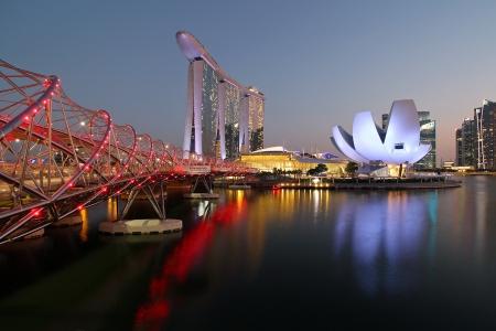 Marina Bay Sands & Arts Science Museum