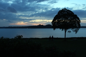 Upper Selatar Reservoir Twilight (Singapore)
