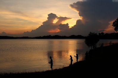 Upper Selatar Reservoir Sunset (Singapore)