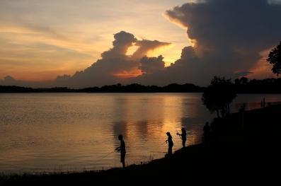 Upper Selatar Reservoir Sunset (Singapore)