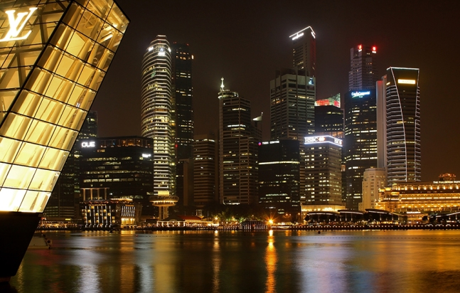 Marina Bay CBD (Singapore)