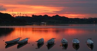 Bedok Reservoir Sunset (Singapore)