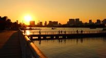 Odaiba Sunset (Tokyo)