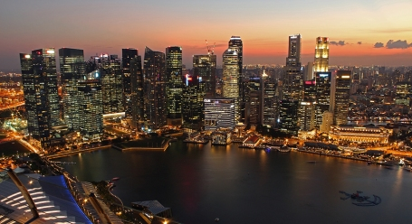 Marina Bay Twilight (Singapore)