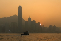 Victoria Harbour Sunset (Hong Kong)