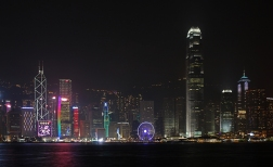 Victoria Harbour Night View (Hong Kong)