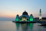Masjid Terapung Selat (Malacca)