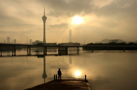 Macau Tower Sunset