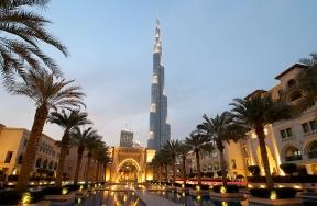 Burj Khalifa + Souk Al Bahar (Dubai)
