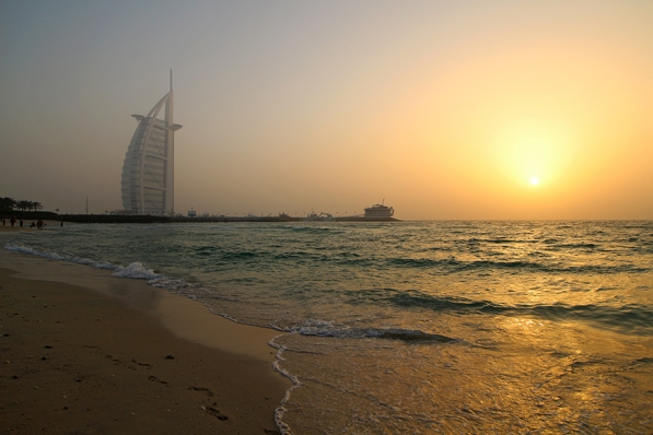 Burj Al Arab Sunset (Dubai)