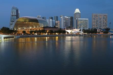 Esplanade Theatres + Marina Bay (Singapore)