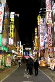 Shinjuku Night Scene (Tokyo)