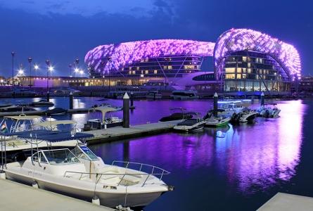 Yas Viceroy Hotel + Yas Marina (Abu Dhabi)