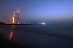 Burj Al Arab + Jumeirah Beach (Dubai)