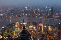 Shanghai World Financial Center View