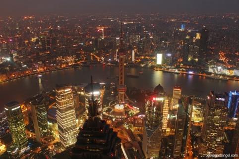 Shanghai World Financial Center View