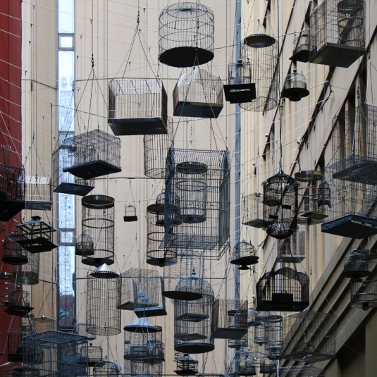 Angel Place Birdcages (Sydney)
