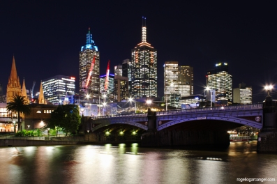 Melbourne CBD & Princes Bridge
