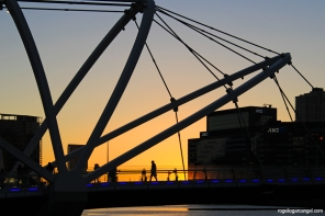 Seafarer's Bridge & Sunset