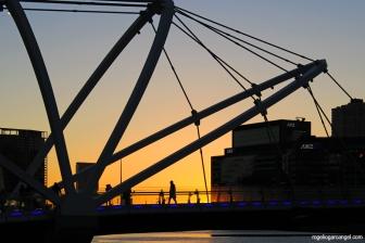 Seafarer's Bridge & Sunset